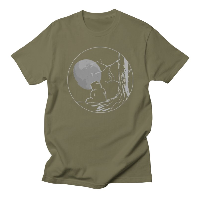 Light of the Moon Men's T-Shirt by stonestreet's Artist Shop