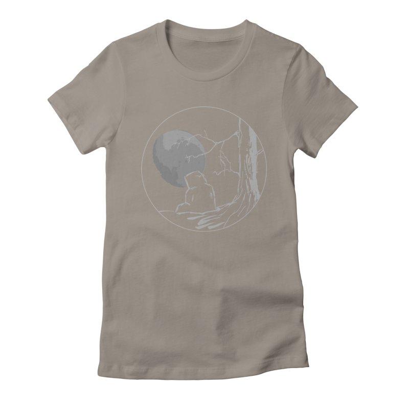 Light of the Moon Women's T-Shirt by stonestreet's Artist Shop