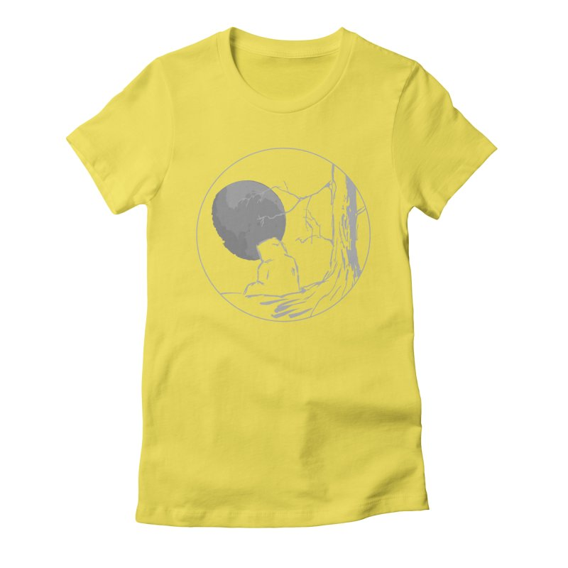 Light of the Moon Women's T-Shirt by stonestreet's Artist Shop