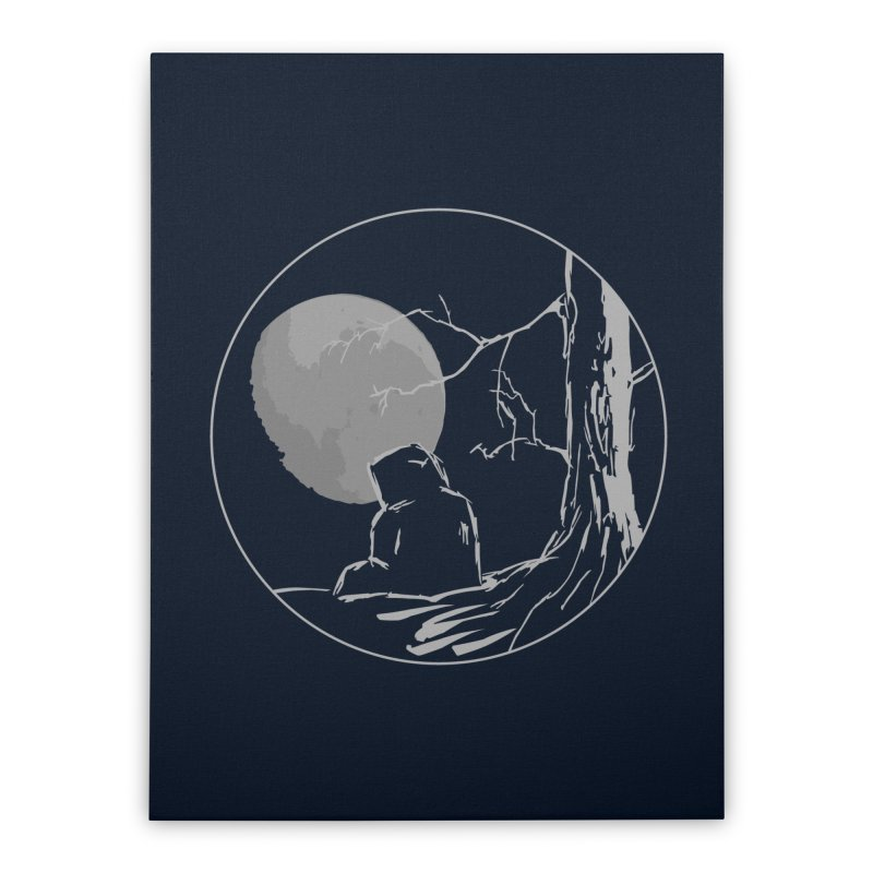 Light of the Moon Home Stretched Canvas by stonestreet's Artist Shop