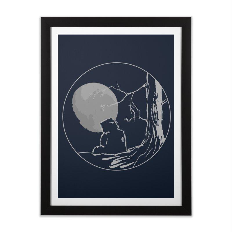 Light of the Moon Home Framed Fine Art Print by stonestreet's Artist Shop