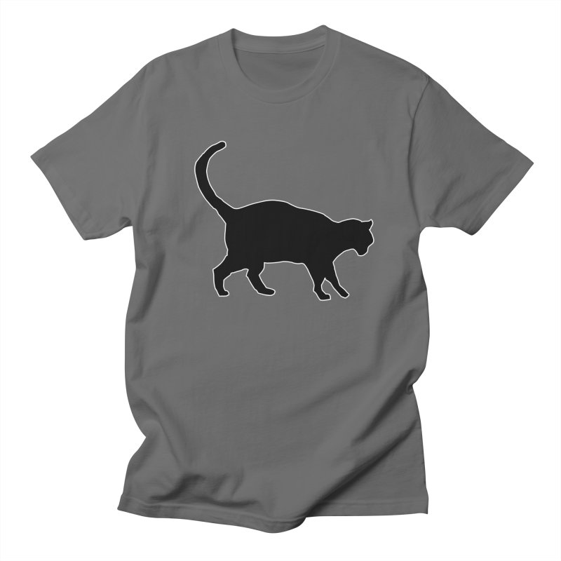 Cats in Profile Men's T-Shirt by stonestreet's Artist Shop