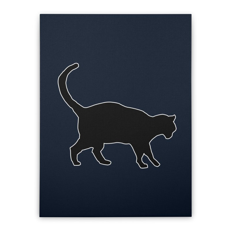 Cats in Profile Home Stretched Canvas by stonestreet's Artist Shop