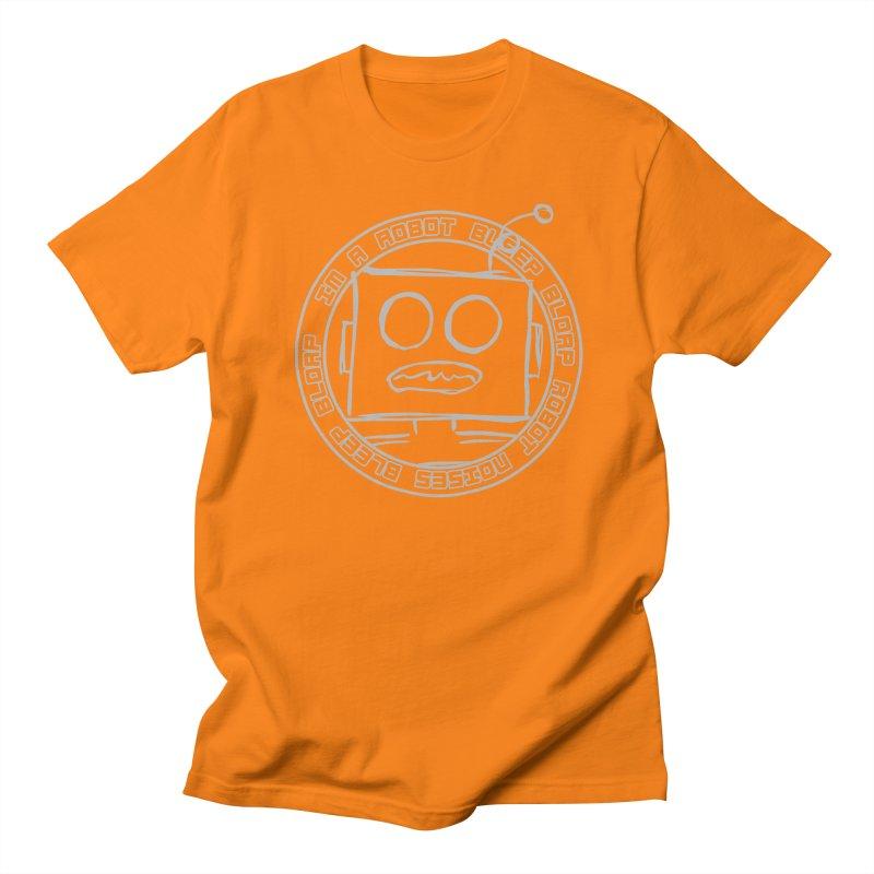 Robot Noises Men's Regular T-Shirt by stonestreet's Artist Shop