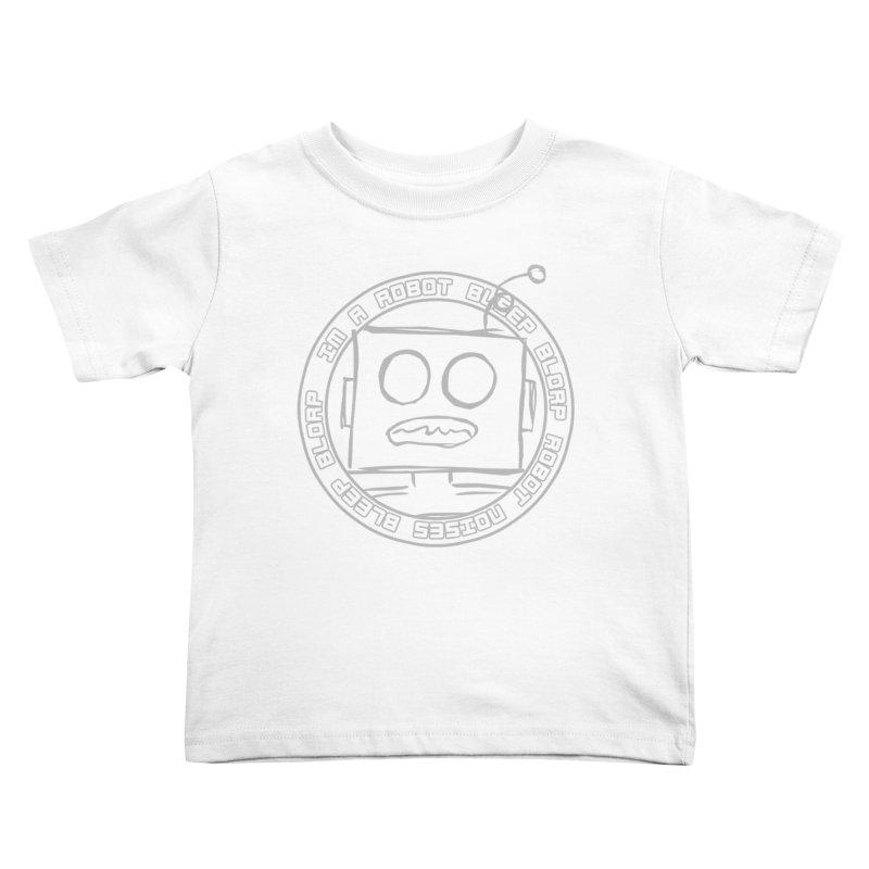 Robot Noises Kids Toddler T-Shirt by stonestreet's Artist Shop