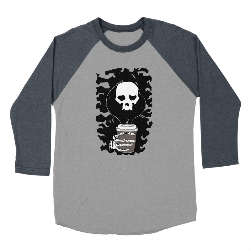 Coffee in the Mourning Women's Baseball Triblend Longsleeve T-Shirt by stonestreet's Artist Shop