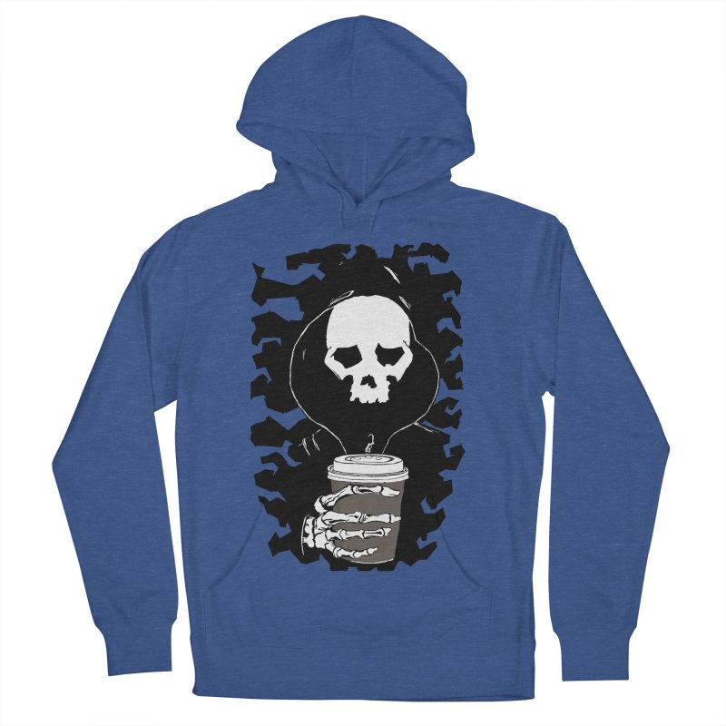 Coffee in the Mourning Women's French Terry Pullover Hoody by stonestreet's Artist Shop