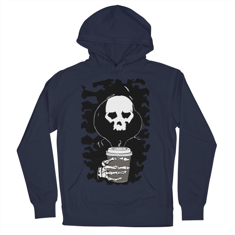 Coffee in the Mourning Men's French Terry Pullover Hoody by stonestreet's Artist Shop