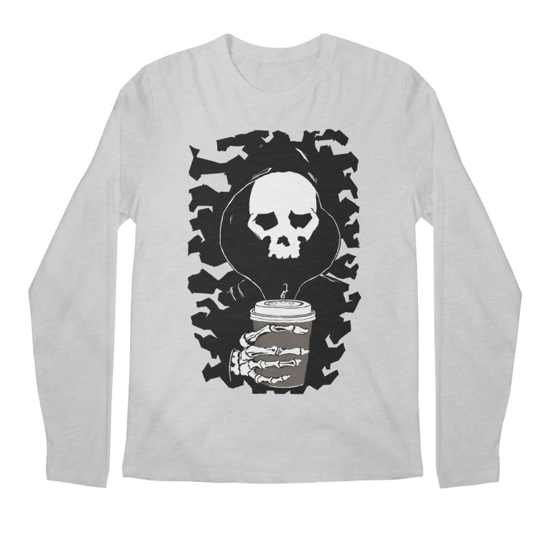Coffee in the Mourning Men's Regular Longsleeve T-Shirt by stonestreet's Artist Shop