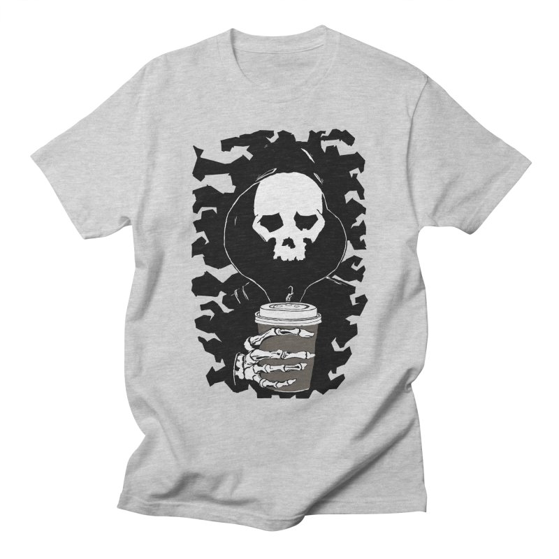 Coffee in the Mourning Men's Regular T-Shirt by stonestreet's Artist Shop