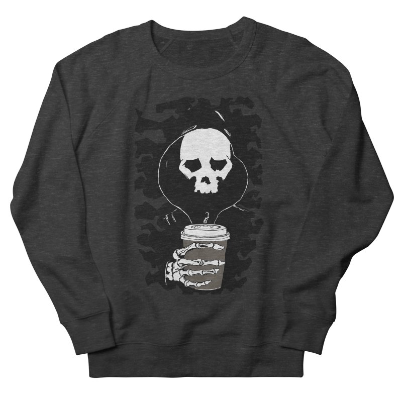 Coffee in the Mourning Men's French Terry Sweatshirt by stonestreet's Artist Shop