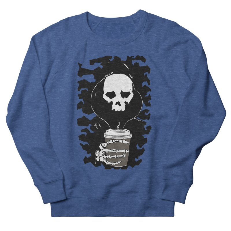 Coffee in the Mourning Men's Sweatshirt by stonestreet's Artist Shop