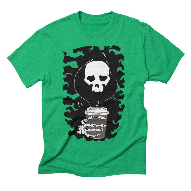 Coffee in the Mourning Men's Triblend T-Shirt by stonestreet's Artist Shop