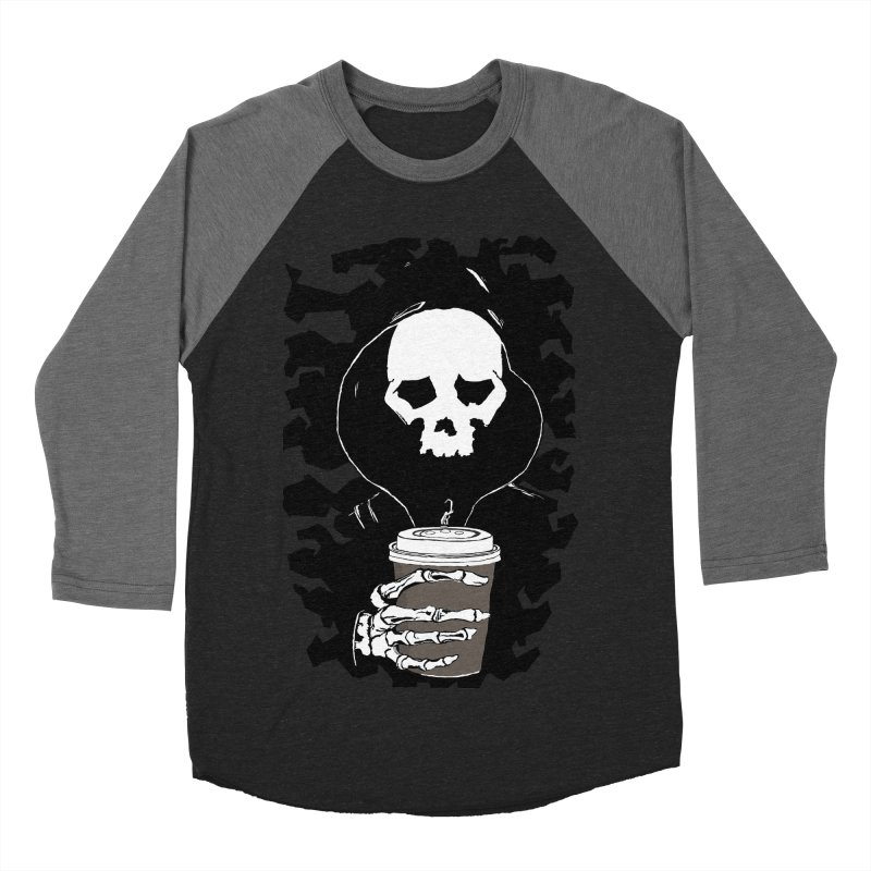 Coffee in the Mourning Women's Baseball Triblend Longsleeve T-Shirt by stonestreet's Artist Shop