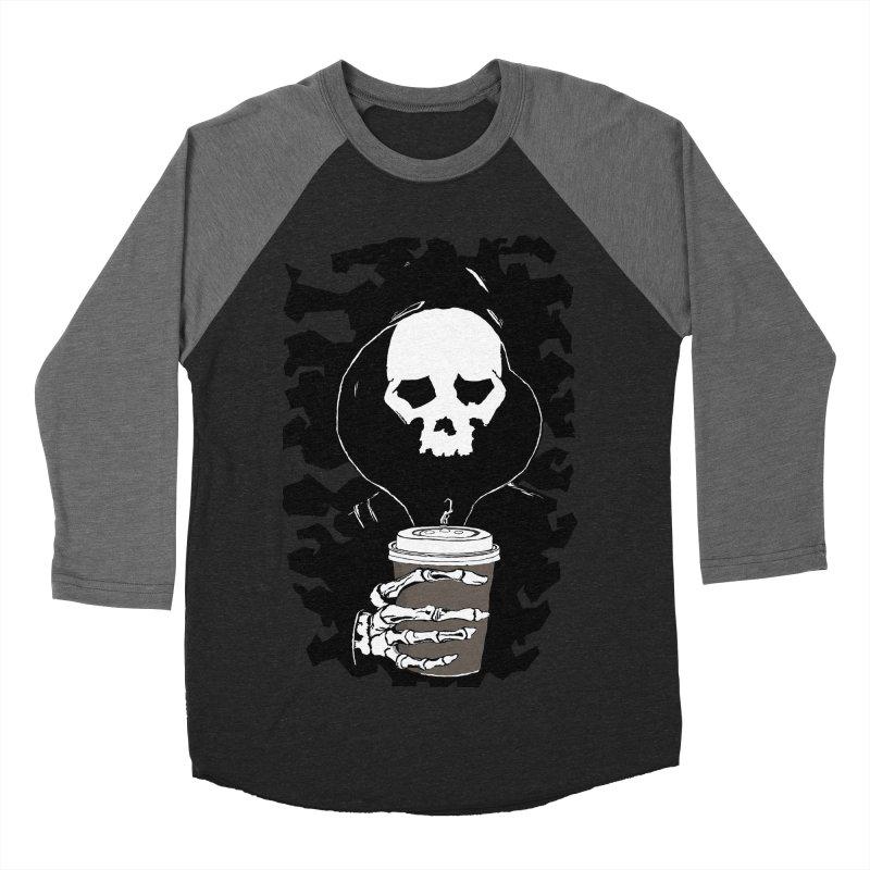 Coffee in the Mourning Men's Baseball Triblend Longsleeve T-Shirt by stonestreet's Artist Shop