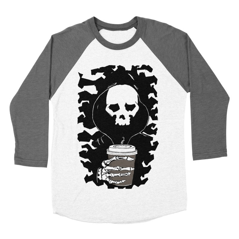 Coffee in the Mourning Men's Baseball Triblend Longsleeve T-Shirt by stonestreet's Artist Shop