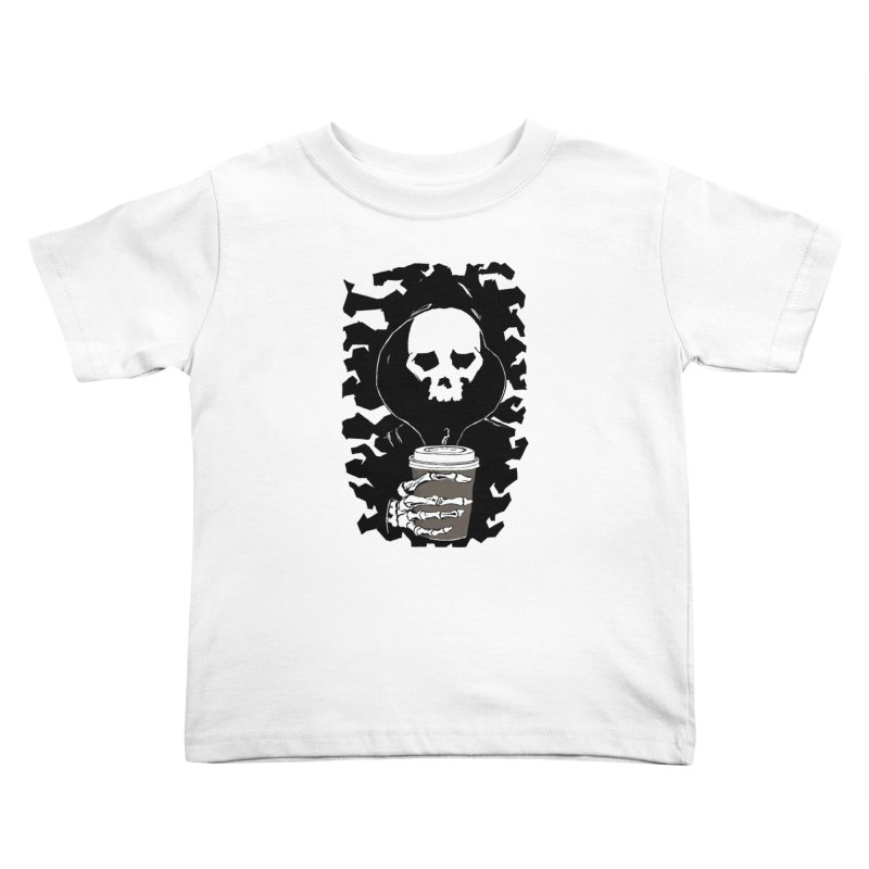 Coffee in the Mourning Kids Toddler T-Shirt by stonestreet's Artist Shop