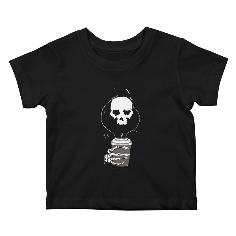 Coffee in the Mourning Kids Baby T-Shirt by stonestreet's Artist Shop