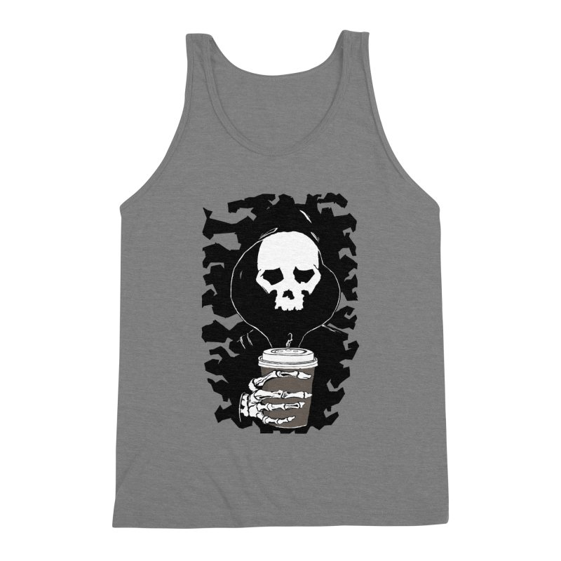 Coffee in the Mourning Men's Triblend Tank by stonestreet's Artist Shop
