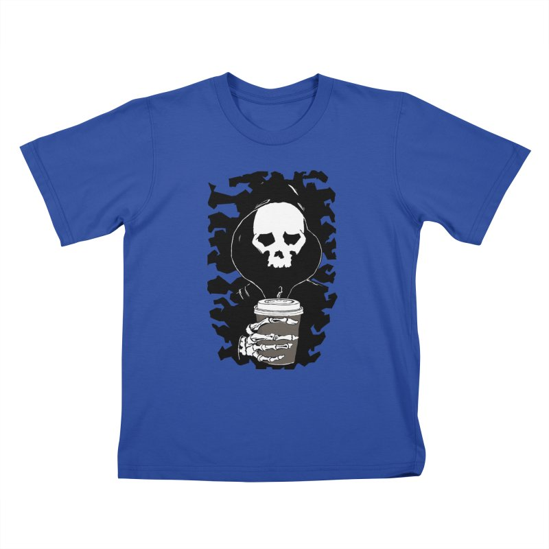 Coffee in the Mourning Kids T-Shirt by stonestreet's Artist Shop