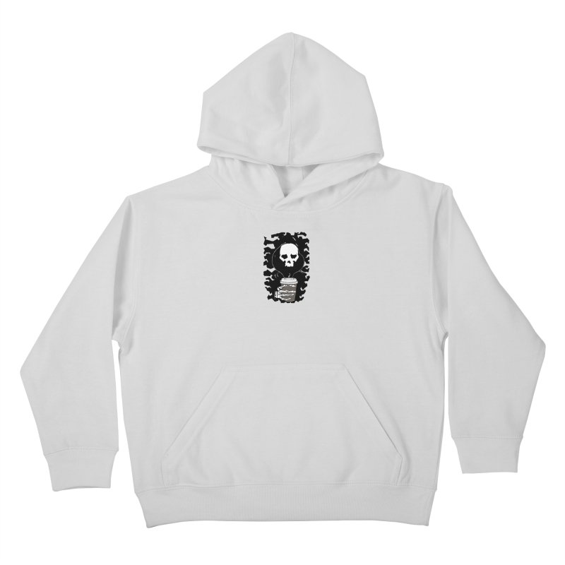 Coffee in the Mourning Kids Pullover Hoody by stonestreet's Artist Shop