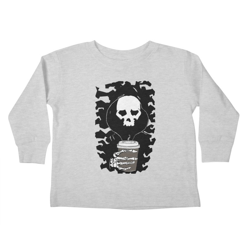 Coffee in the Mourning Kids Toddler Longsleeve T-Shirt by stonestreet's Artist Shop