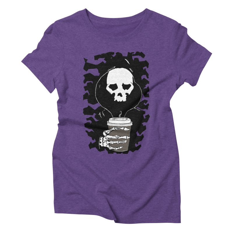 Coffee in the Mourning Women's Triblend T-Shirt by stonestreet's Artist Shop