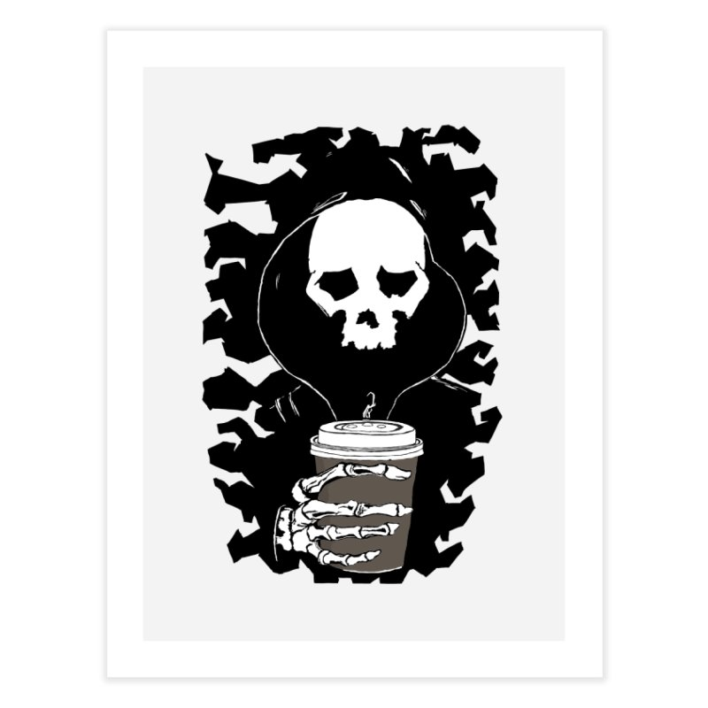 Coffee in the Mourning Home Fine Art Print by stonestreet's Artist Shop