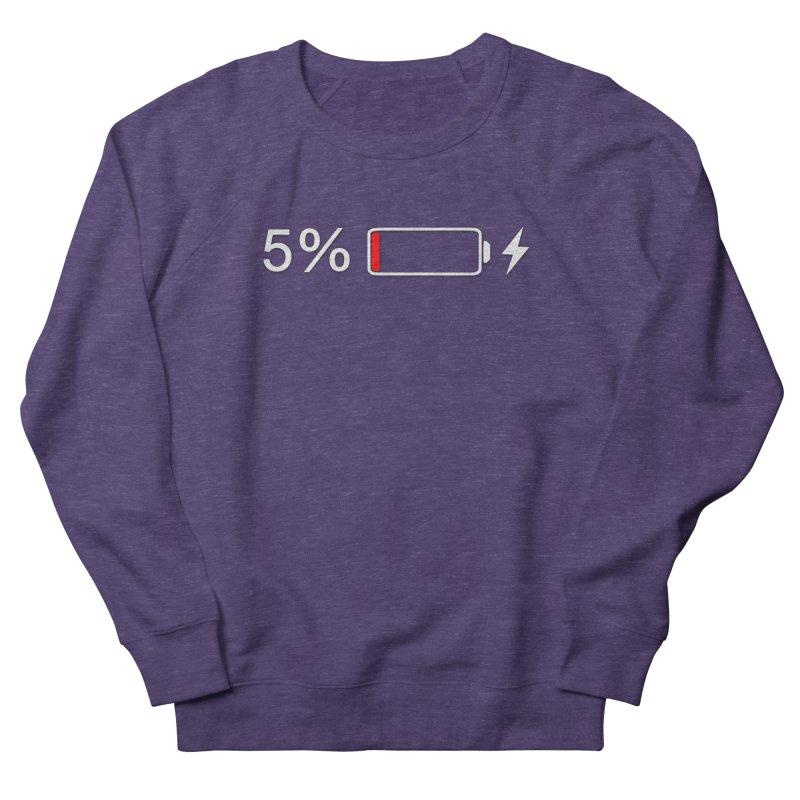 Low Batteries Women's French Terry Sweatshirt by stonestreet's Artist Shop