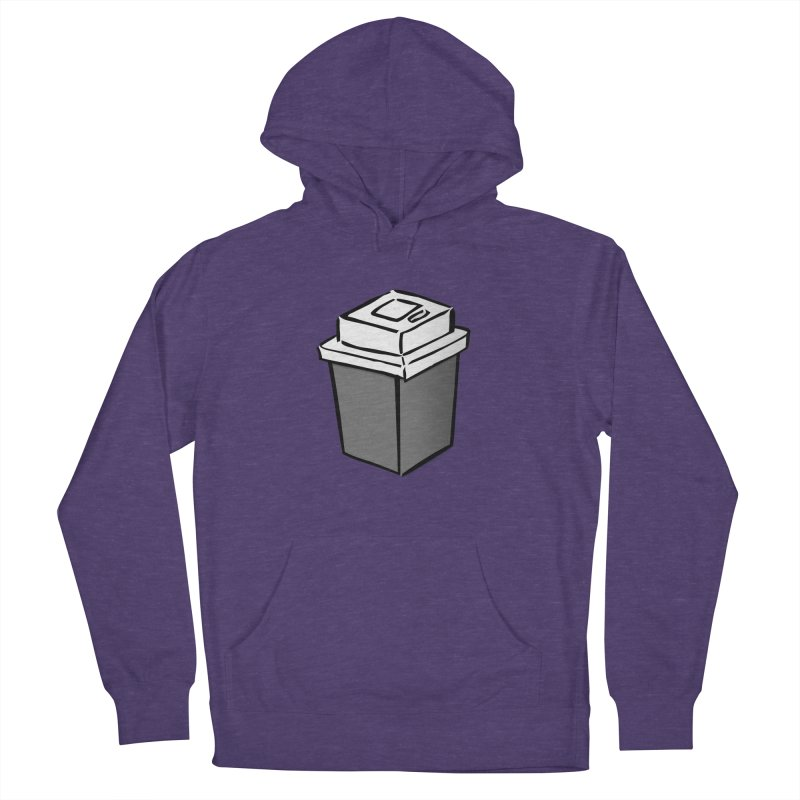 Coffee Square Women's French Terry Pullover Hoody by stonestreet's Artist Shop