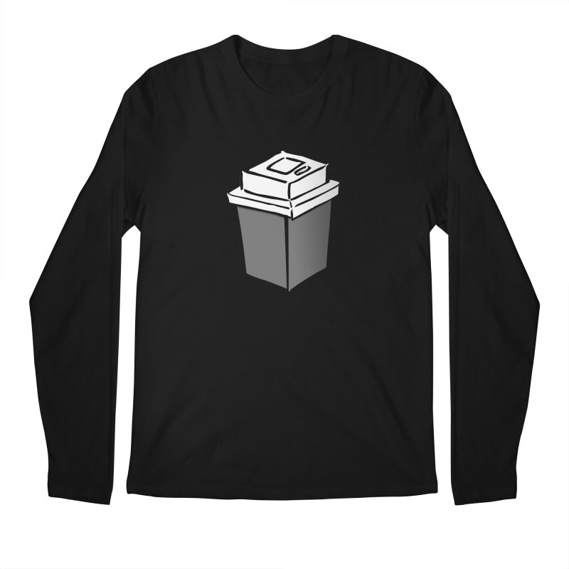 Coffee Square Men's Regular Longsleeve T-Shirt by stonestreet's Artist Shop