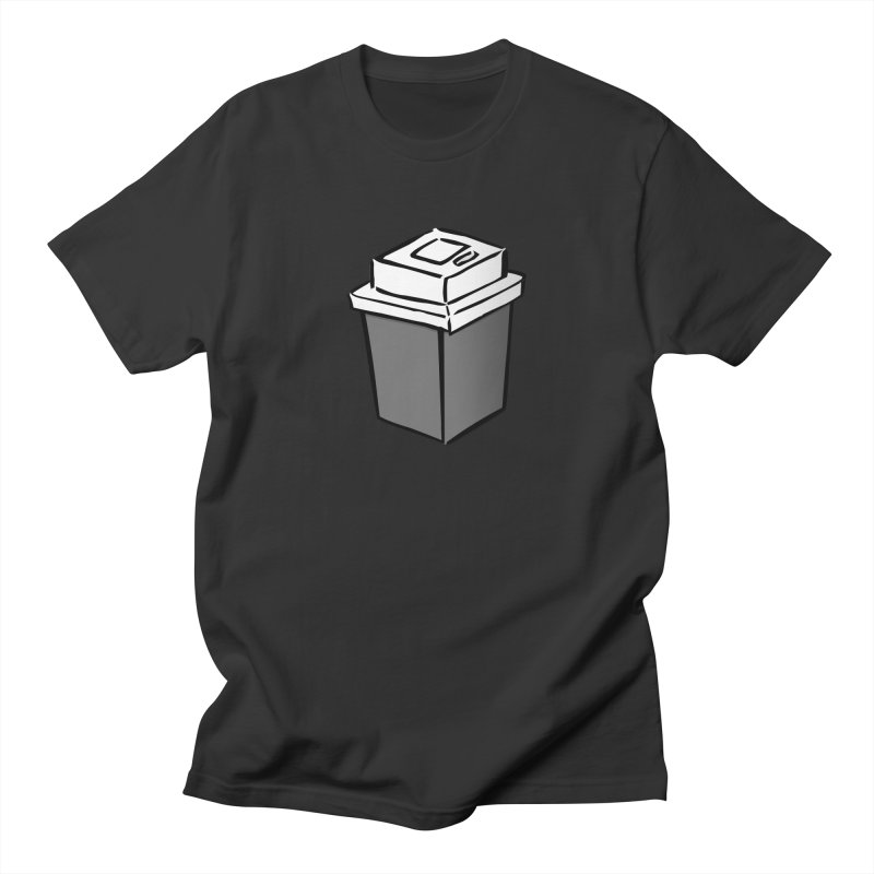 Coffee Square Men's Regular T-Shirt by stonestreet's Artist Shop