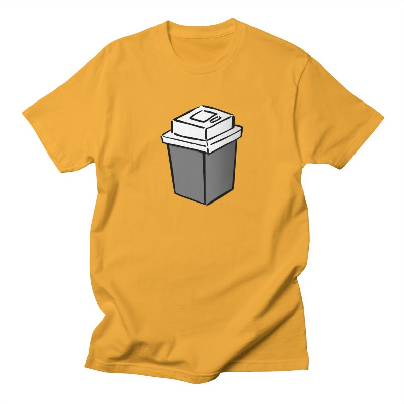 Coffee Square Men's Regular T-Shirt by stonestreet's Artist Shop