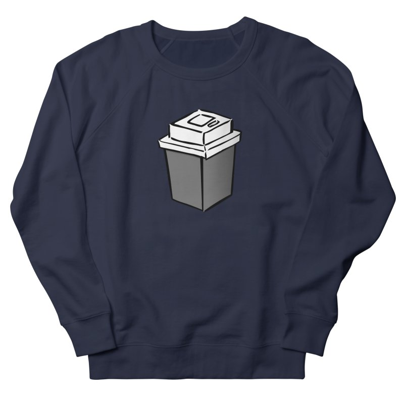 Coffee Square Men's French Terry Sweatshirt by stonestreet's Artist Shop