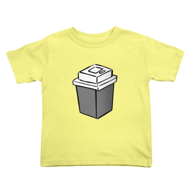 Coffee Square Kids Toddler T-Shirt by stonestreet's Artist Shop