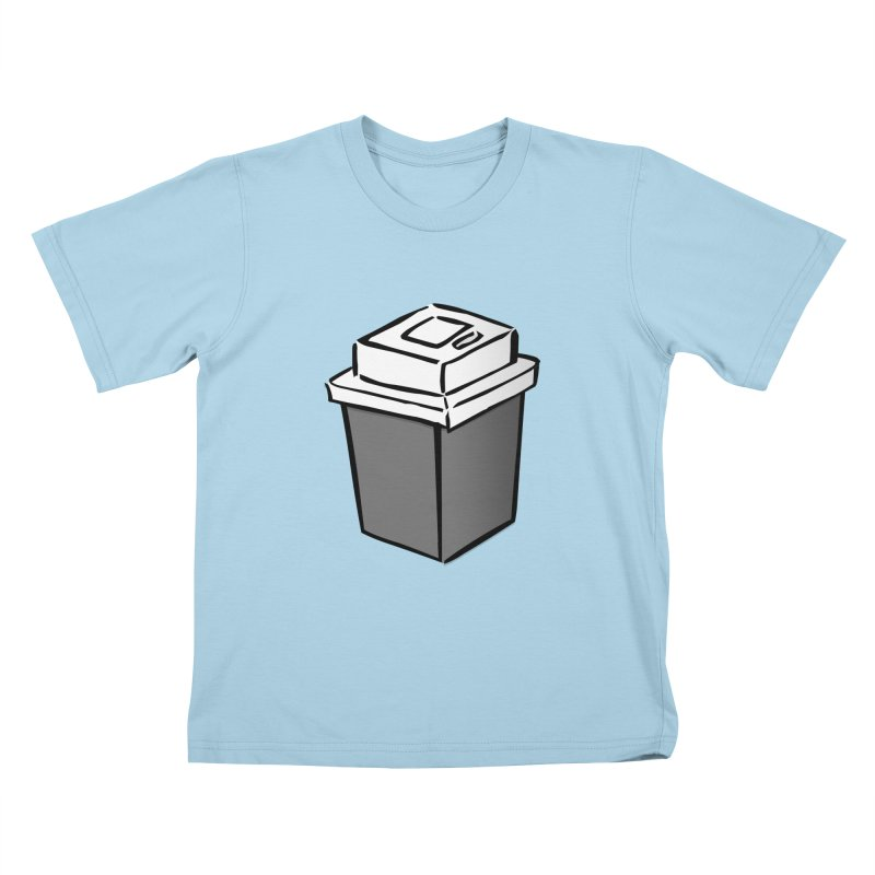 Coffee Square Kids T-Shirt by stonestreet's Artist Shop