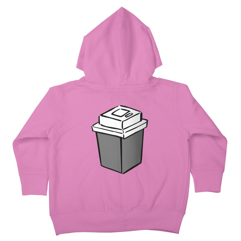 Coffee Square Kids Toddler Zip-Up Hoody by stonestreet's Artist Shop