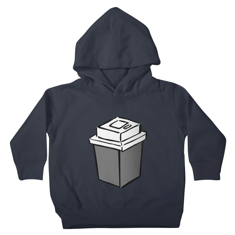 Coffee Square Kids Toddler Pullover Hoody by stonestreet's Artist Shop