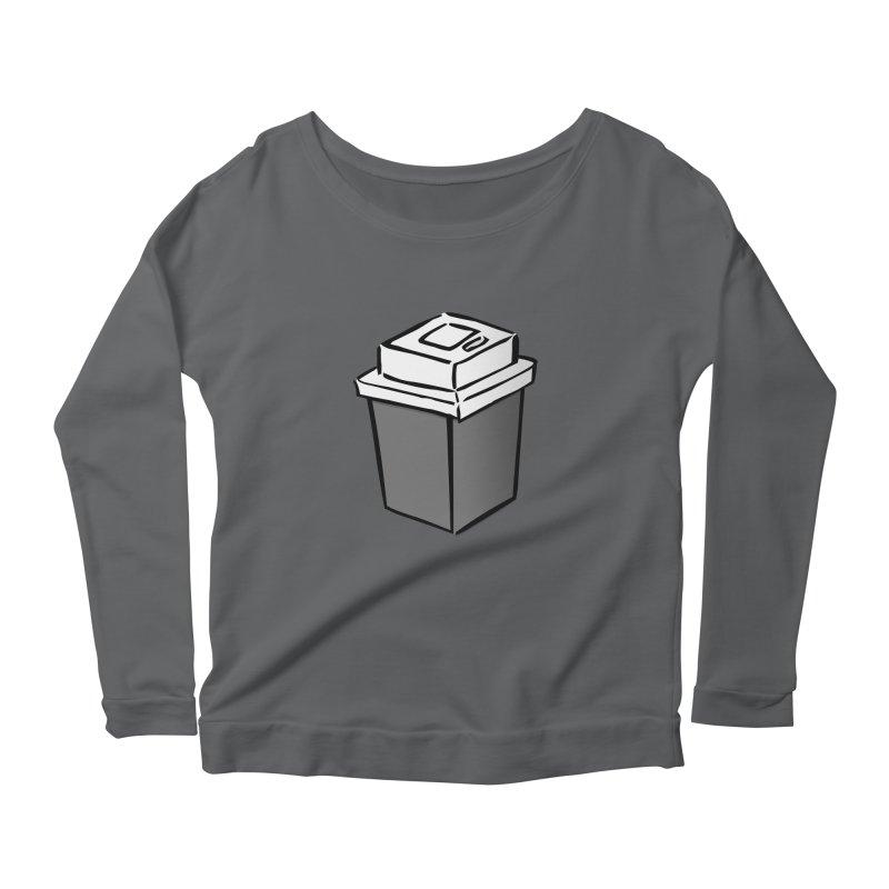 Coffee Square Women's Scoop Neck Longsleeve T-Shirt by stonestreet's Artist Shop