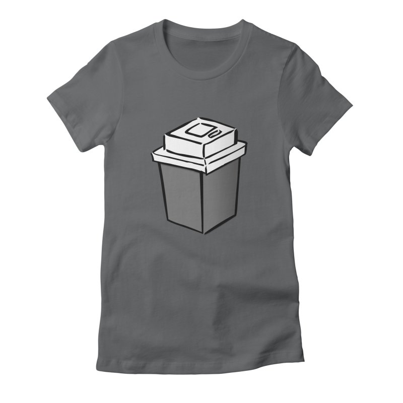 Coffee Square Women's Fitted T-Shirt by stonestreet's Artist Shop