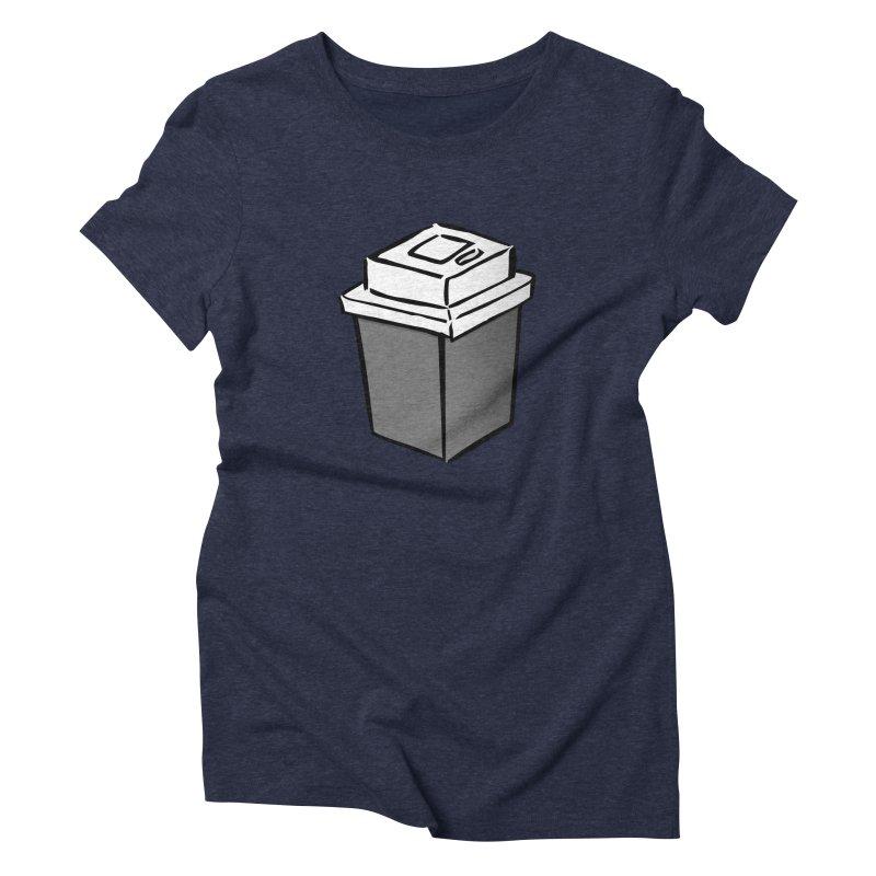 Coffee Square Women's Triblend T-Shirt by stonestreet's Artist Shop