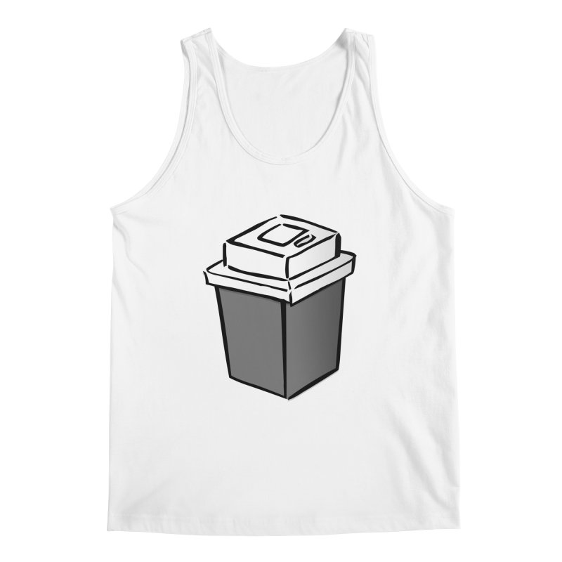 Coffee Square Men's Regular Tank by stonestreet's Artist Shop