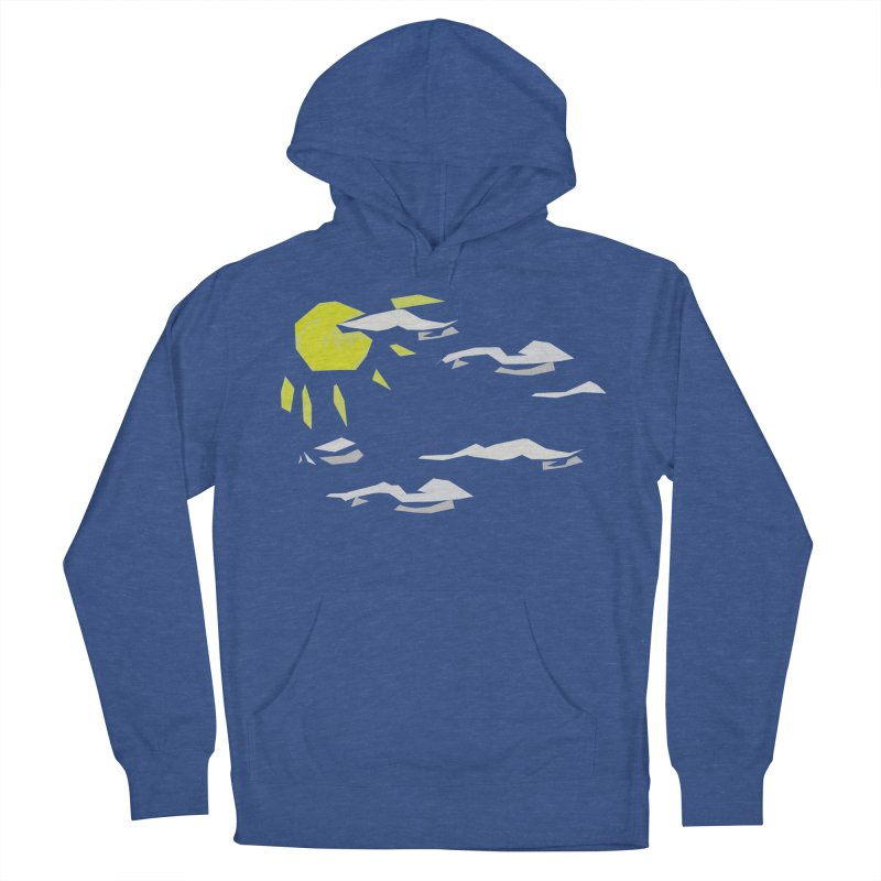 Sunny Daze Men's French Terry Pullover Hoody by stonestreet's Artist Shop