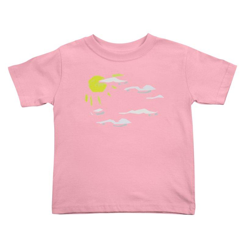 Sunny Daze Kids Toddler T-Shirt by stonestreet's Artist Shop