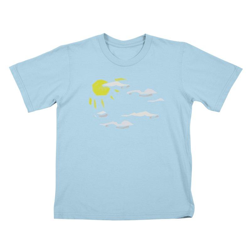 Sunny Daze Kids T-Shirt by stonestreet's Artist Shop