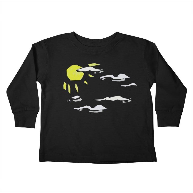 Sunny Daze Kids Toddler Longsleeve T-Shirt by stonestreet's Artist Shop