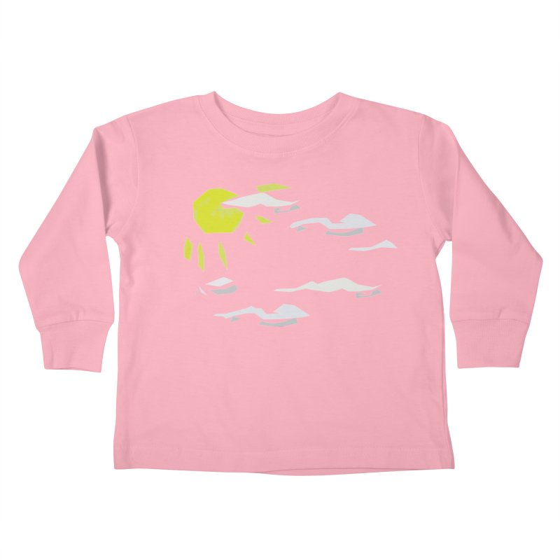 Sunny Daze Kids Toddler Longsleeve T-Shirt by stonestreet's Artist Shop