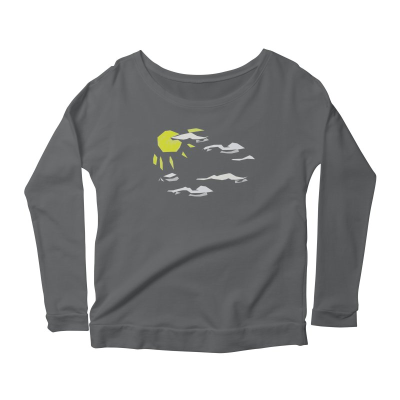 Sunny Daze Women's Scoop Neck Longsleeve T-Shirt by stonestreet's Artist Shop