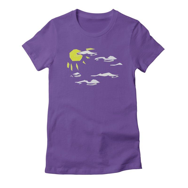 Sunny Daze Women's Fitted T-Shirt by stonestreet's Artist Shop