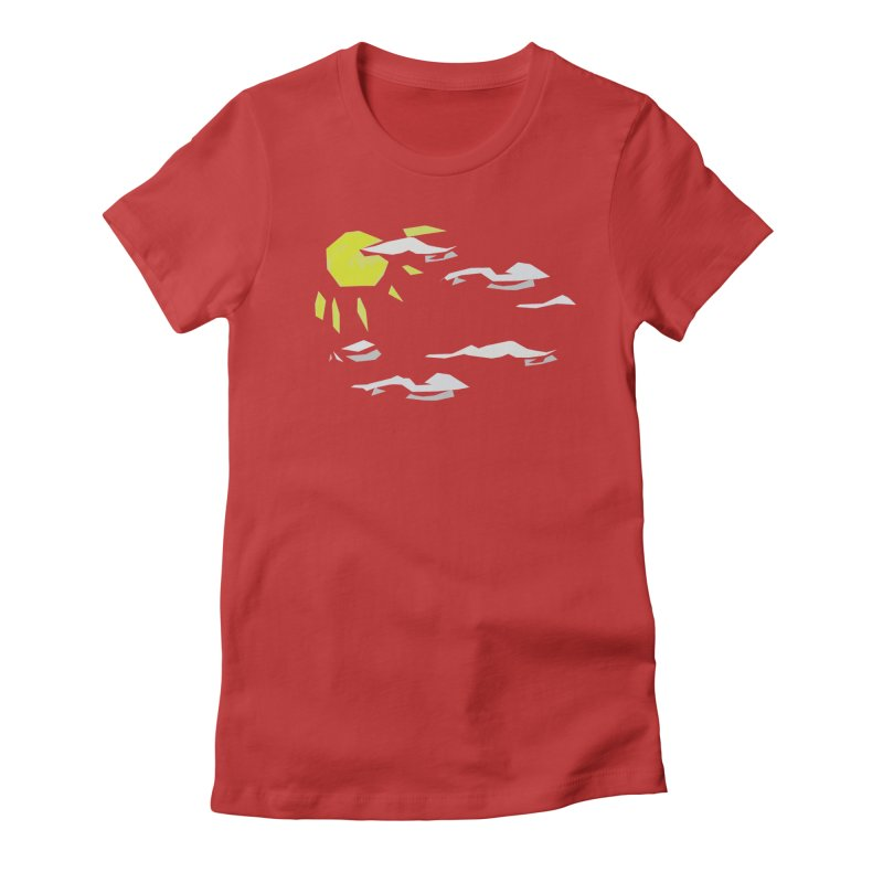 Sunny Daze Women's Fitted T-Shirt by stonestreet's Artist Shop